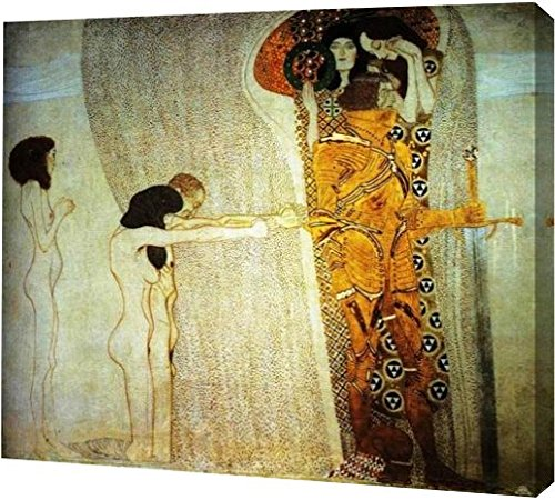 The Beethoven Frieze: The Longing for Happiness by Gustav Klimt - 12