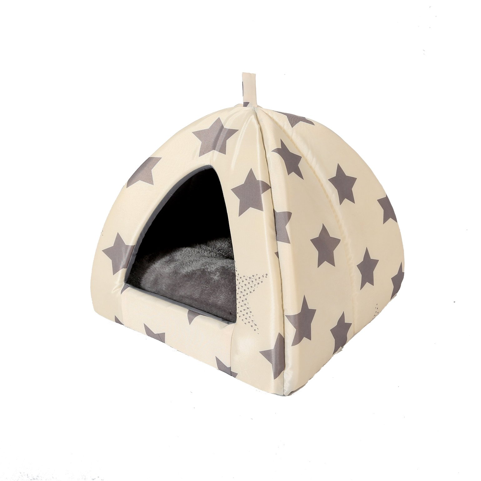 Tongli Pet Bed Soft Cat Dog House Pet Cave Warm Kennel Cat Nesting Sofa Bed …