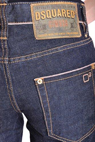 Bleu Femme MCBI107042O Dsquared2 Coton Jeans 6qABUxw
