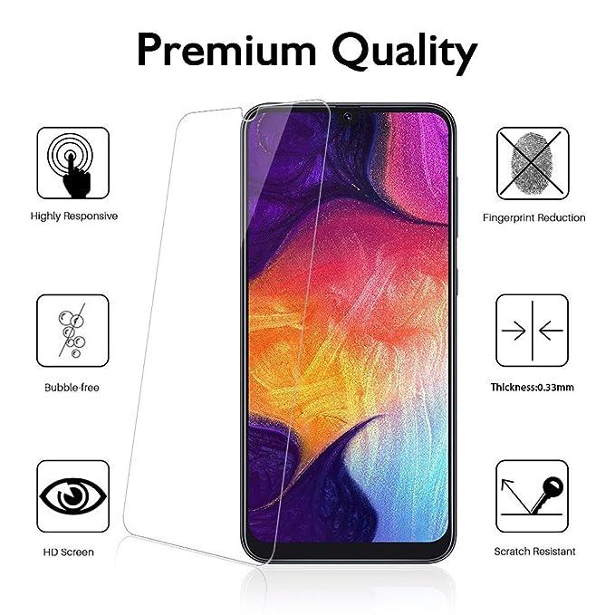 Madan] Protector de Pantalla de Cristal Templado para Samsung ...