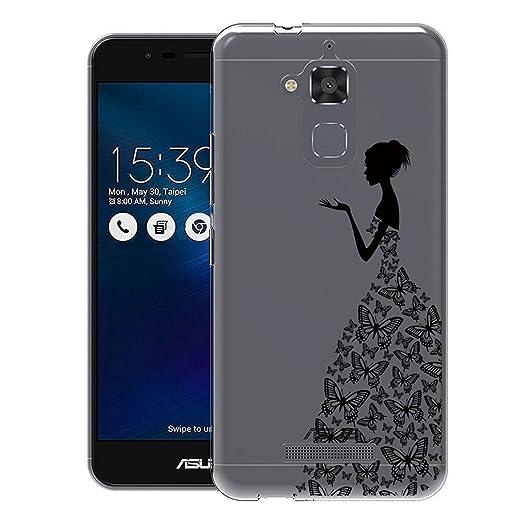 46 opinioni per Custodia Asus Zenfone 3 Max ZC520TL , ivencase Cover Silicone Trasparente TPU