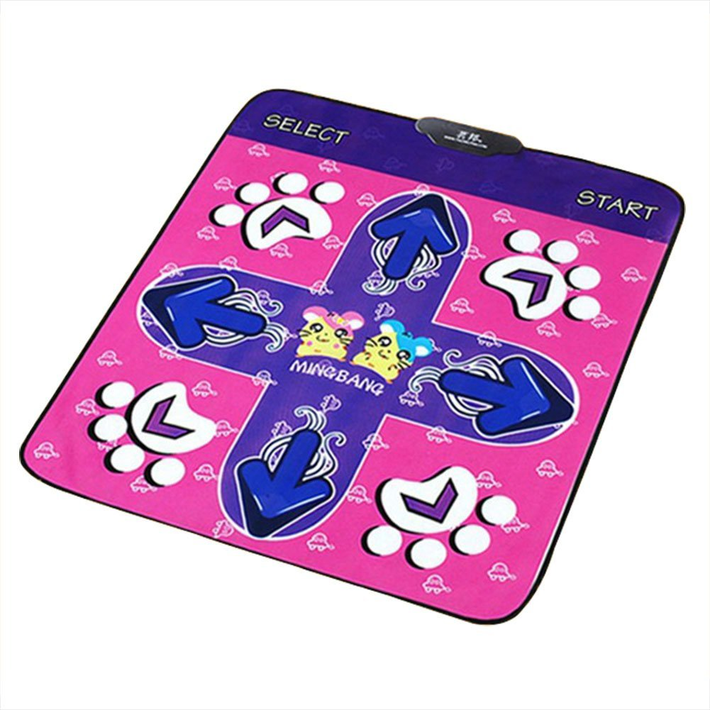 Dance Pad, Non-slip Dancing Step Dance Mat Passionate Dancing Step Blanket Rhythm and Beat Game Dancing Step Pads for PC with USB