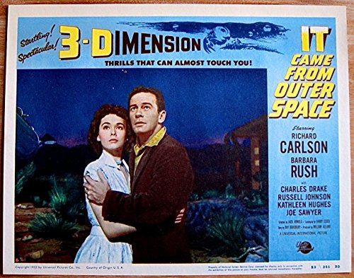 It Came From Outer Space Lobby Card #6