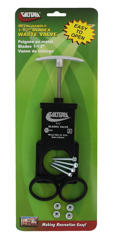 Valterra T1001VPM Bladex 1-1/2'' Waste Valve Body with Metal Handle