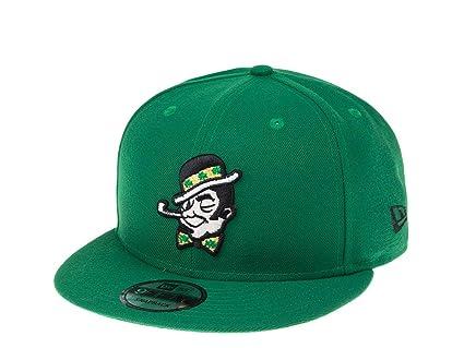 nouvelle arrivée hot-vente authentique sélection spéciale de New Era Casquette de Basket Boston Celtics Lucky Snapback ...