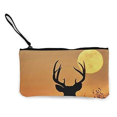 Amazon.com: Sunset Deer Monedero de viaje de maquillaje ...