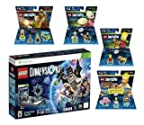 Lego Dimensions Starter Pack + Scooby Doo Team Pack + The Simpsons Homer Level Pack + Bart Simpson + Krusty Fun Packs for Xbox 360 Console