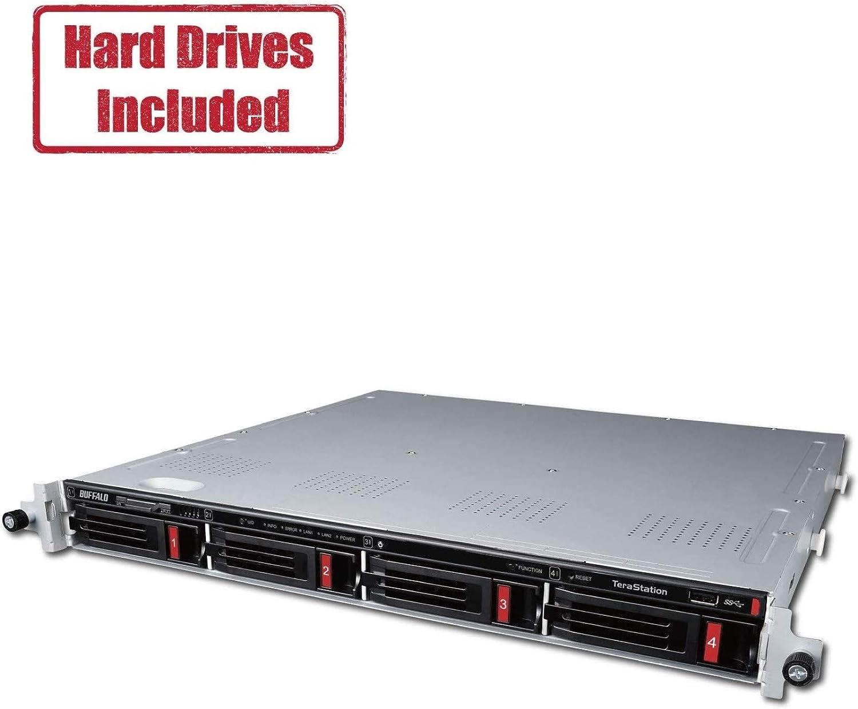 BUFFALO TeraStation 3410RN Rackmount 16 TB NAS Hard Drives Included
