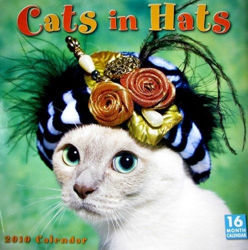 Cats in Hats 2010 Wall Calendar (Calendar)