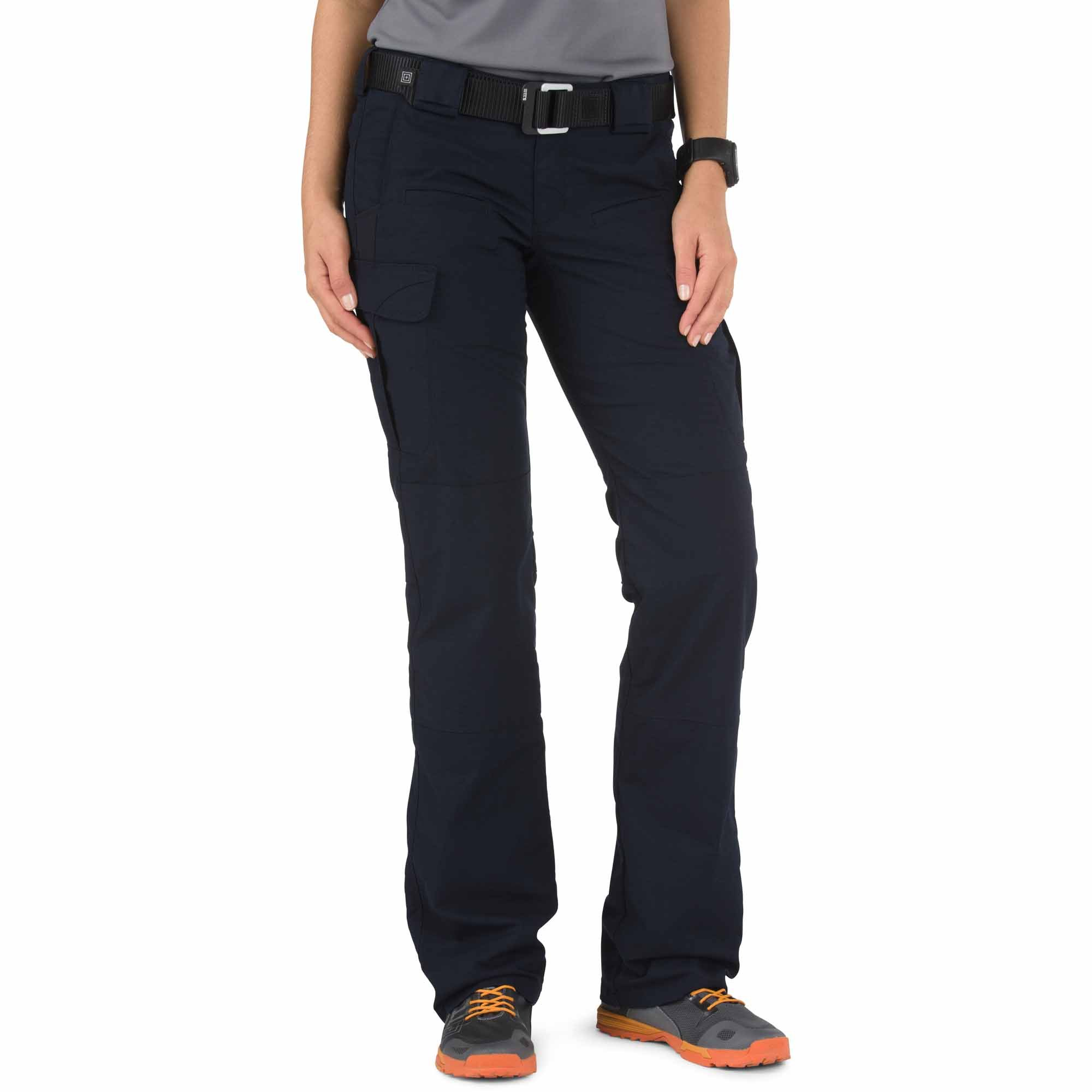 5.11 Tactical Women's Stryke Covert Cargo Pants, Stretchable Fabric, Gusseted Construction, Style 64412 by 5.11