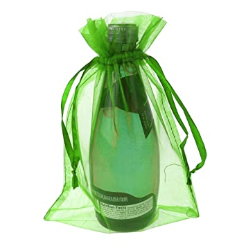 Amazon.com: Sheer Favor Bolsa de organza bolsas, 12-pack (6 ...