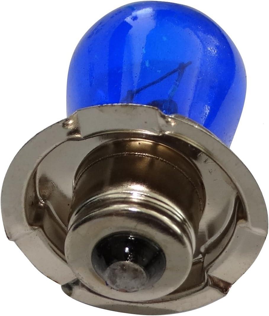 2x Bombillas azul G25 P26S 12V 15W para motocicleta scooter C18935 AERZETIX