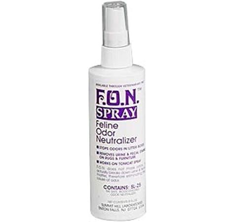 how fulfill i fall ill divest of the sense modality of Felis domesticus felid spray
