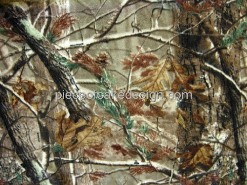1/4 Sheet ~ Tree Cloth Camo Birthdays ~ Edible Cake/Cupcake Topper!!!