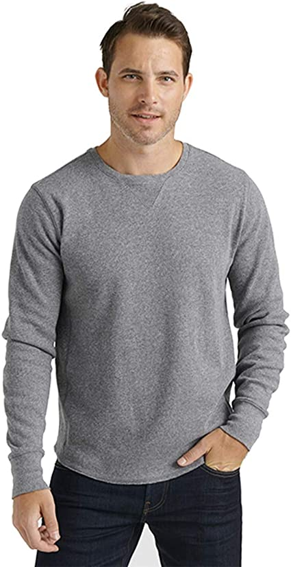 Lucky Brand Camisa térmica de Manga Larga con Cuello Redondo para Hombre: Amazon.es: Ropa y accesorios