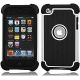 ユニークなデザイン iPod Touch4 第4世代 ケース/カバー ipod touch 4用シリコンケース  ホワイト  並行輸入品