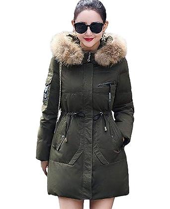 Cappotti Donna Invernali Eleganti Lunga Cappotto Trapuntato