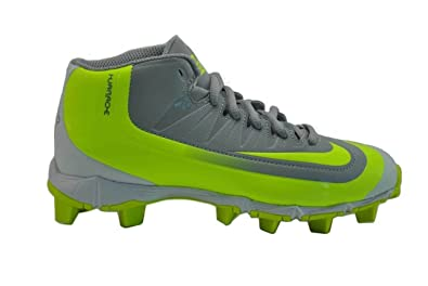 Nike Huarache 2KFilth Keystone Mid Boys Baseball Cleats Wolf Grey-Volt 1.5  Little Kid