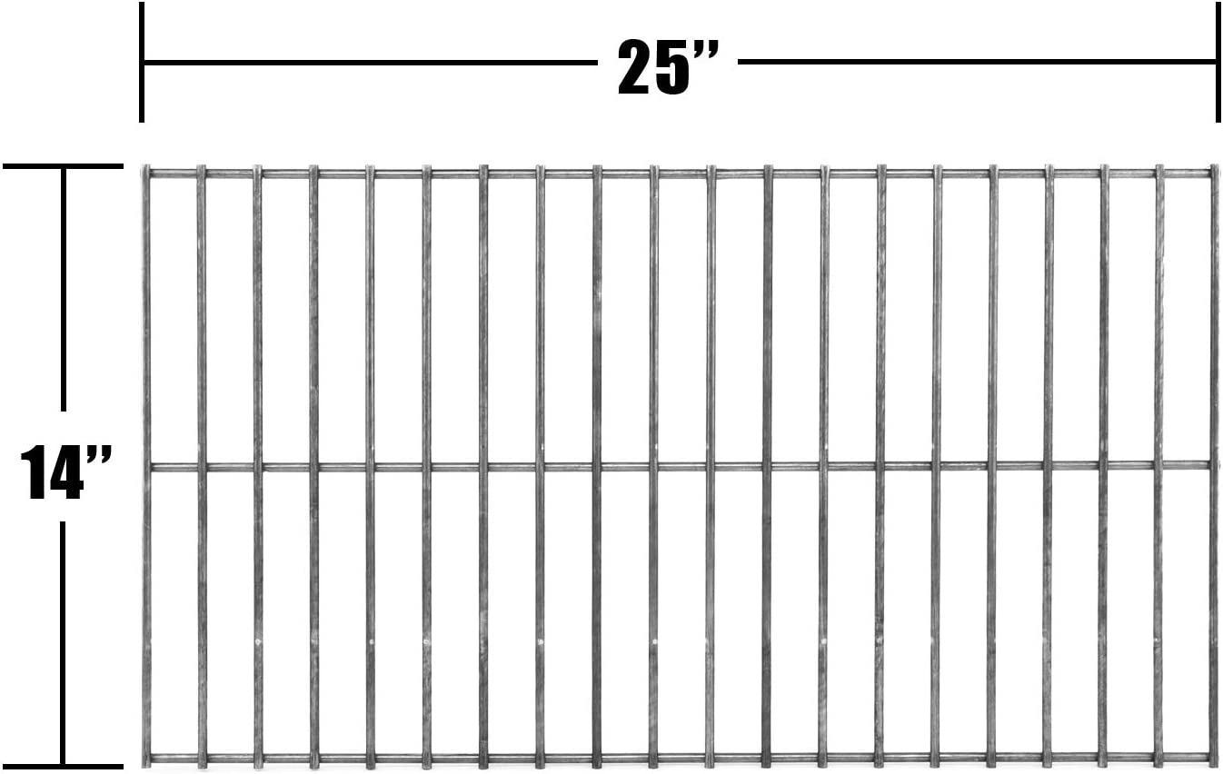 Music City Metals 92301 Steel Wire Rock Grate Replacement for Select Charbroil and Patio Kitchen Gas Grill Models