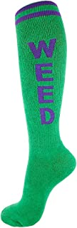 product image for Gumball Poodle Unisex Weed Retro Knee High Tube Socks