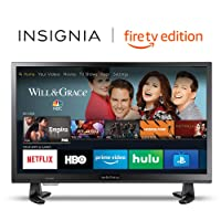 Deals on Insignia NS-24DF310NA19 24-in 720p HD Smart TV + Amazon Echo Dot