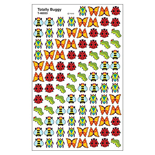 Trend Enterprises Inc. Totally Buggy superShapes Stickers, 800 ct ()