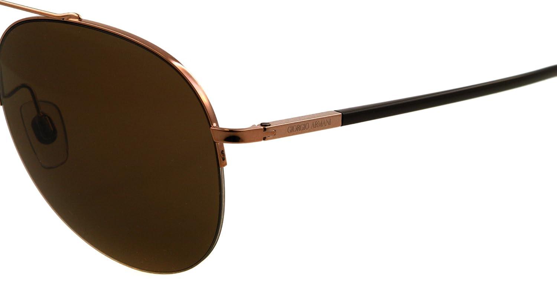 Giorgio Armani AR 6002 - 3011/73 Sunglasses BROWN 56mm