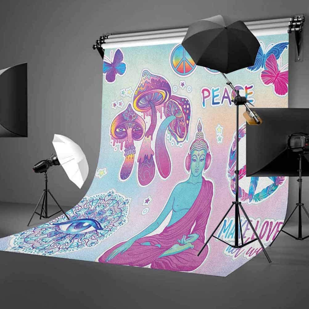 7x10 FT Navy and B Vinyl Photography Background Backdrops,Watercolor Style Starry Space Galaxy Nebula Abstract Cosmos Inspired Background for Photo Backdrop Studio Props Photo Backdrop Wall