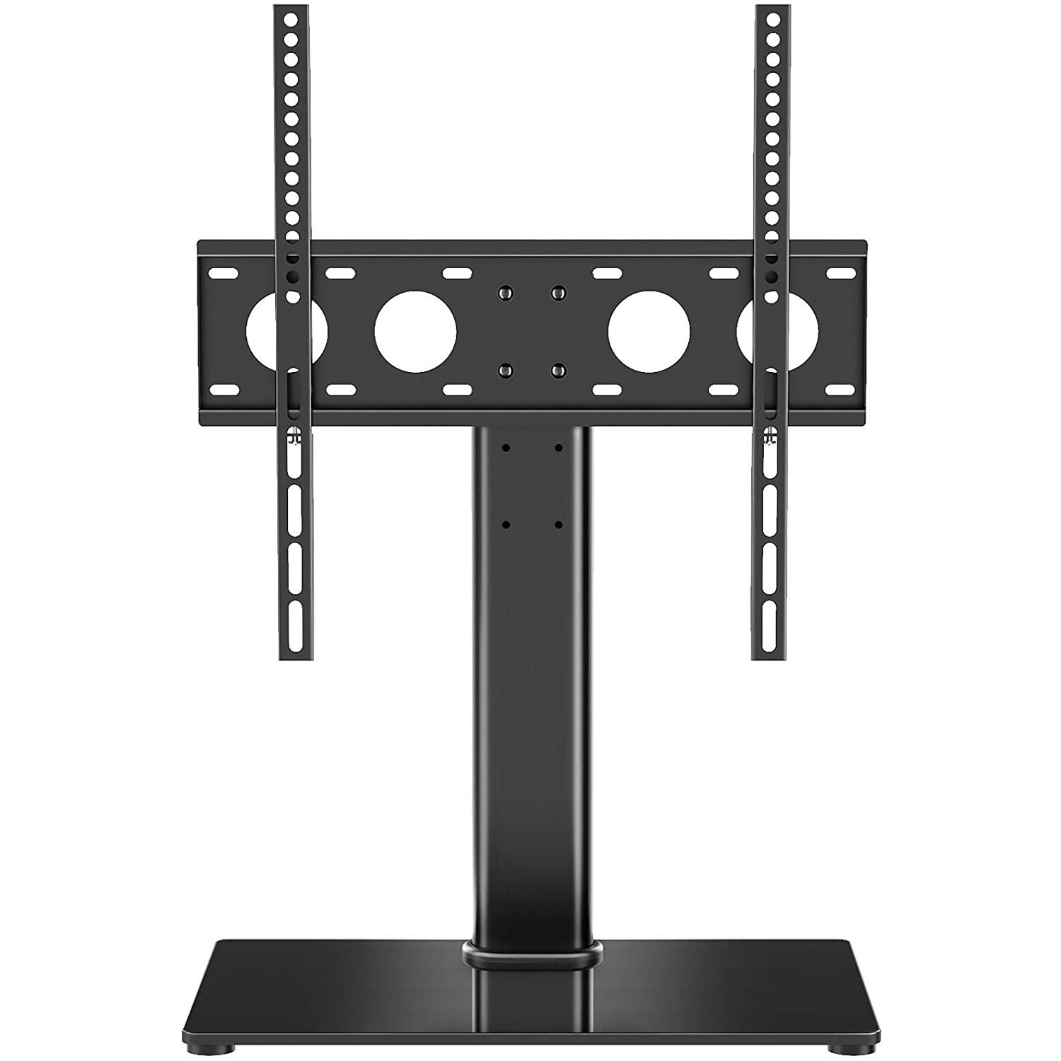 tabletop for monitor desk let screen stand pin tv table riser lcd universal pedestal