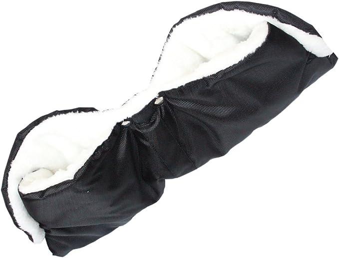 compatible avec la plupart des mod/èles de poussettes pour b/éb/és Gants de poussette rembourr/és pour garder vos mains au chaud pendant les promenades