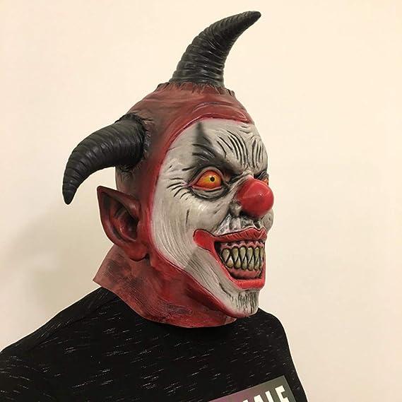 HS-ZM-06 Máscara De Halloween Payaso Triángulo Arnés Máscara ...