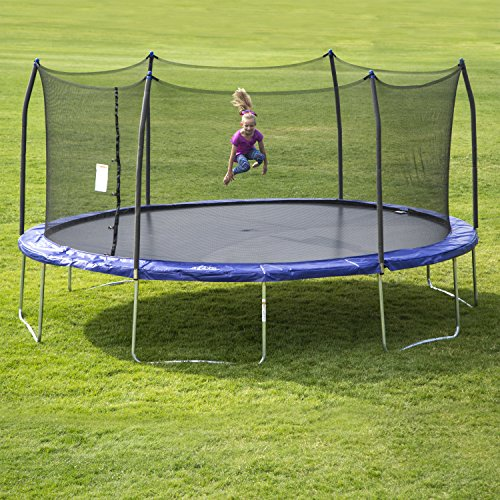 Skywalker SWTC17BWS Oval Trampoline And Enclosure With