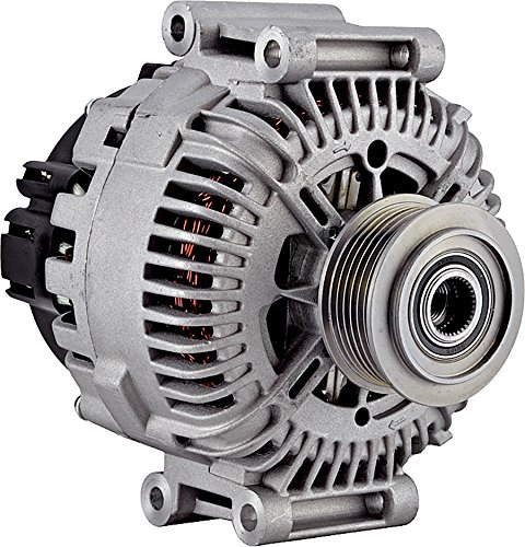 Alternator Bosch Audi Alternator - New Alternator for 3.2L AUDI A6 05 06 07 08 2005 2006 2007 2008 AL9365X, 11162, LRA02365, TG17C044, TG17C023, 439554, 439536, 437528, 2543280, 2542798, 06E-903-016K, 06E-903-016G 12Clock 180Amp 12V