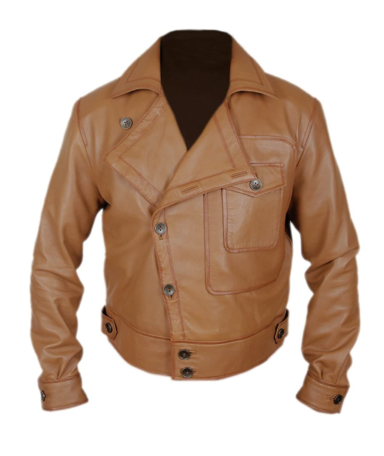 F&H Men's Leonardo DiCaprio Aviator Flight Jacket