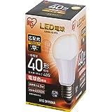 アイリスオーヤマLED電球 E26 広配光タイプ 40W形相当 電球色 LDA5L-G-4T5