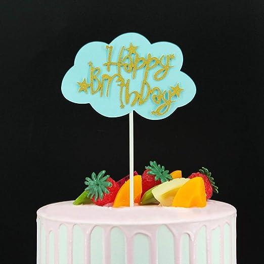 FELICIGG 20 UNIDS Fiesta de Cumpleaños Tarjeta de Decoración de la ...