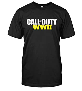 Call Of Duty Wwii T Shirt Cod World War 2 Ww2 Top Tee Amazon De