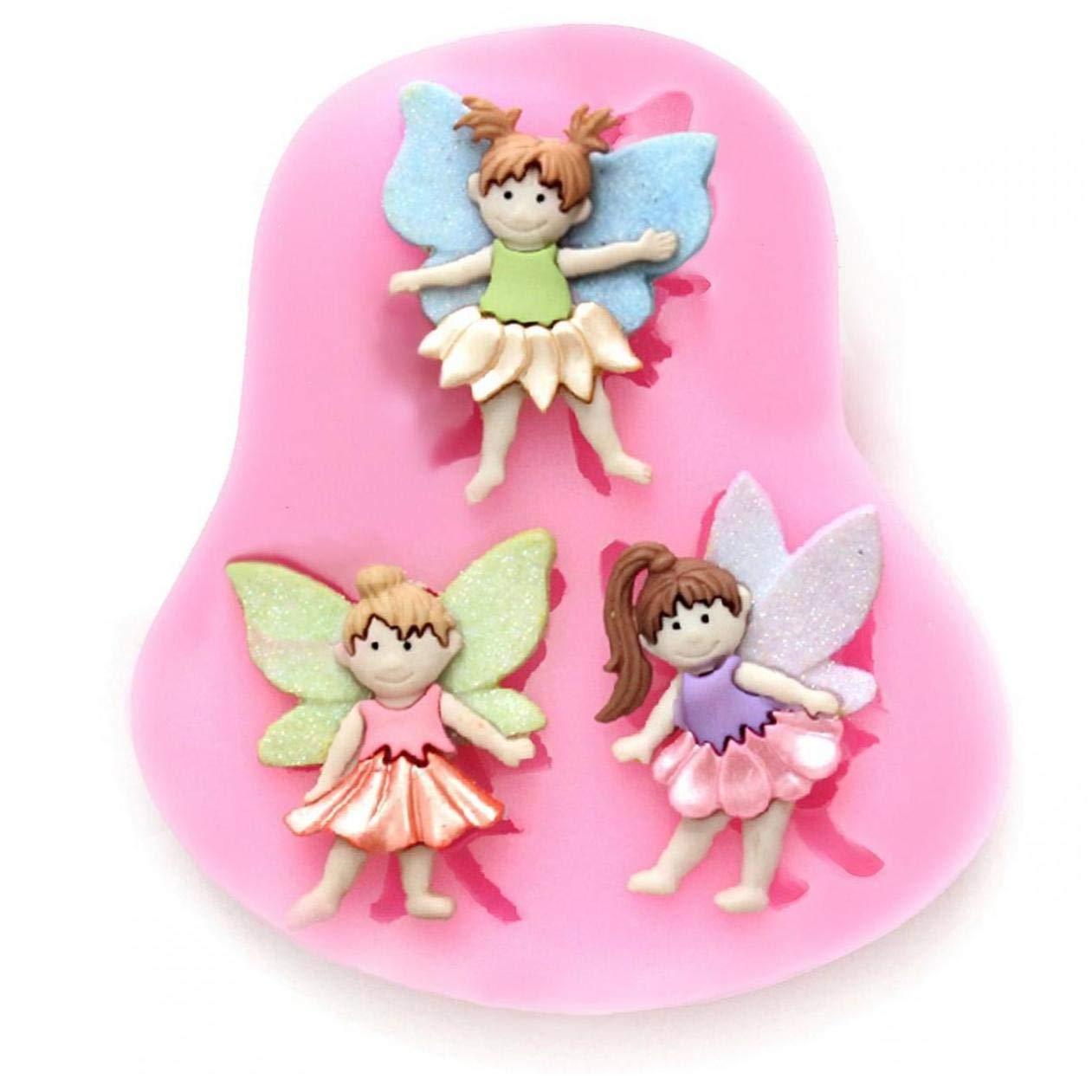 Amazon.com: Elf Fairy - Molde de silicona para fondant ...
