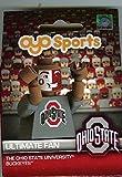 NCAA Ohio State Buckeyes OYO Ultimate Fan Minifigure, Small, Black