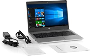 "HP High Performance Probook 14"" Business Laptop, Intel 8th Gen i5-8250U Quad-core, 256GB SSD, 8GB RAM, 802.11ac Wireless, USB C, HDMI/VGA , Bluetooth, Ethernet, Only 3.6 lbs, Windows 10 Pro"