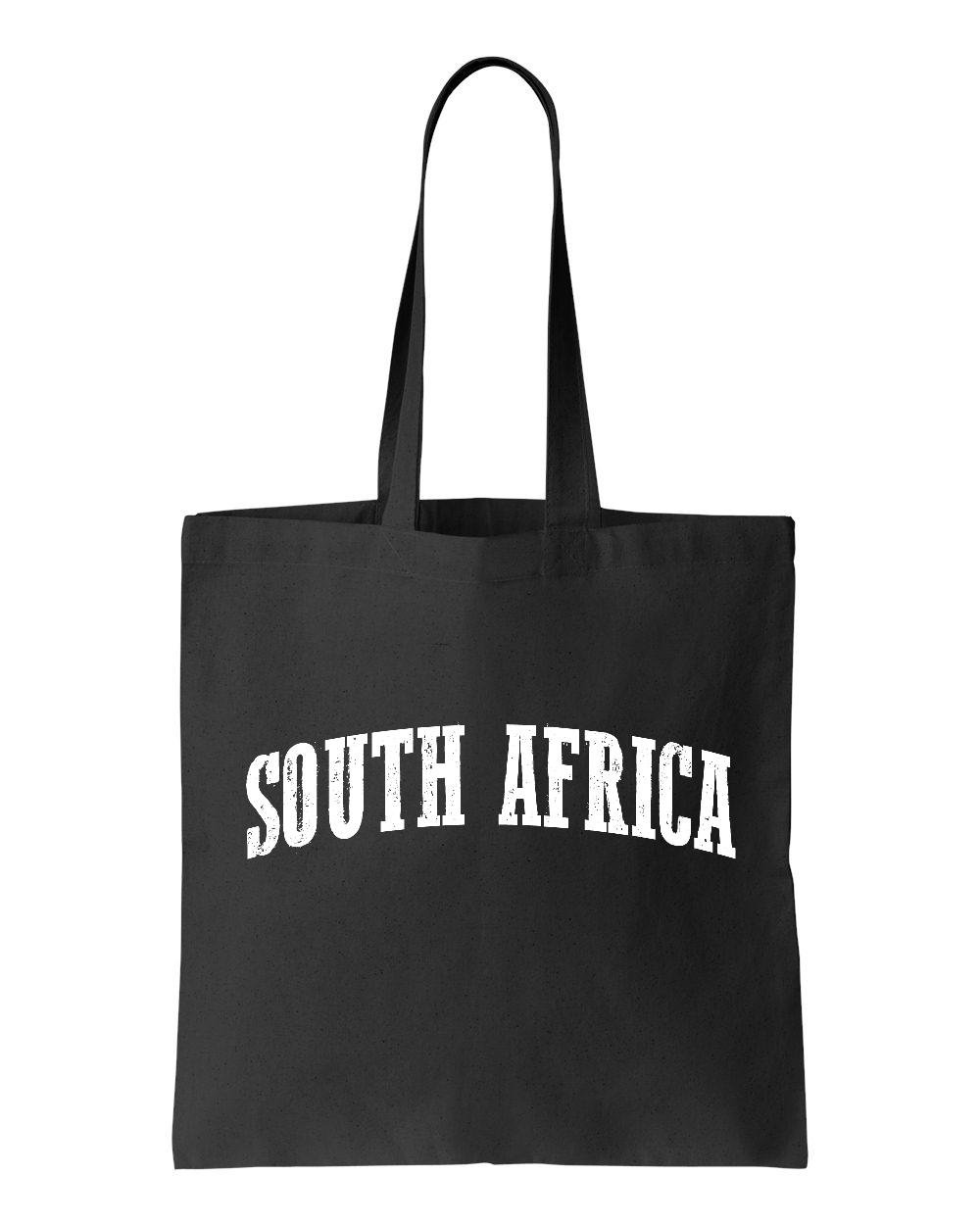 Ugo What To Do in South Africa Travel Guide Deals Cape Town Map African Flag Tote Handbags Bags Work School Travel
