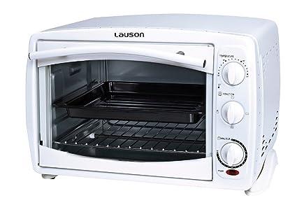 Lauson - Horno eléctrico, mini horno de sobremesa capacidad 18 litros amo105
