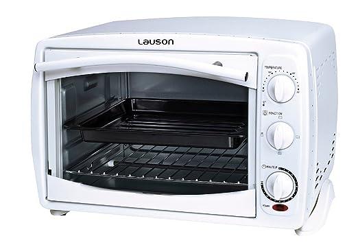 Lauson - Horno eléctrico, mini horno de sobremesa capacidad 18 ...