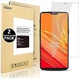 Pellicole Protettiva OnePlus 6, Voigeer [2 Pack] [0,3mm, 2,5D] [Durezza 9H] [Facilità Di Installazione] [HD Clear] Protezione Dello Schermo in Vetro Temprato per OnePlus 6