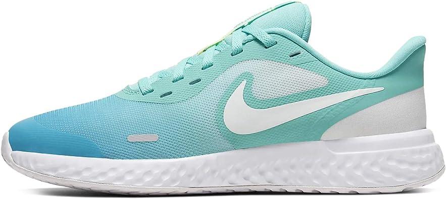 Amazon Com Nike Revolution 5 D2n Gs Big Kids Cw1410 300 Running