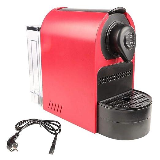Cafetera, Máquina de café espresso portátil de cápsula roja(EU ...