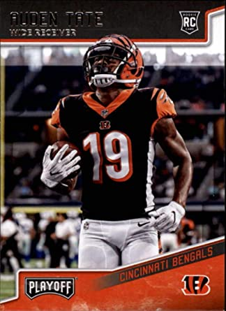 Amazon.com: Football NFL 2018 Panini Playoff #292 Auden Tate #292 ...