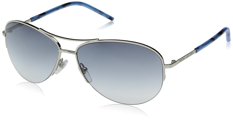 Marc Jacobs Womens Marc61s Aviator Sunglasses PALLADIUM 59 mm