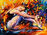 Resting Ballerina is a Limited Edition print from the Edition of 400. The artwork is a hand-embellished, signed and numbered Giclee on Unstretched Canvas by Leonid Afremov. Embellishment on each of these pieces will be slightly different, but the ima...
