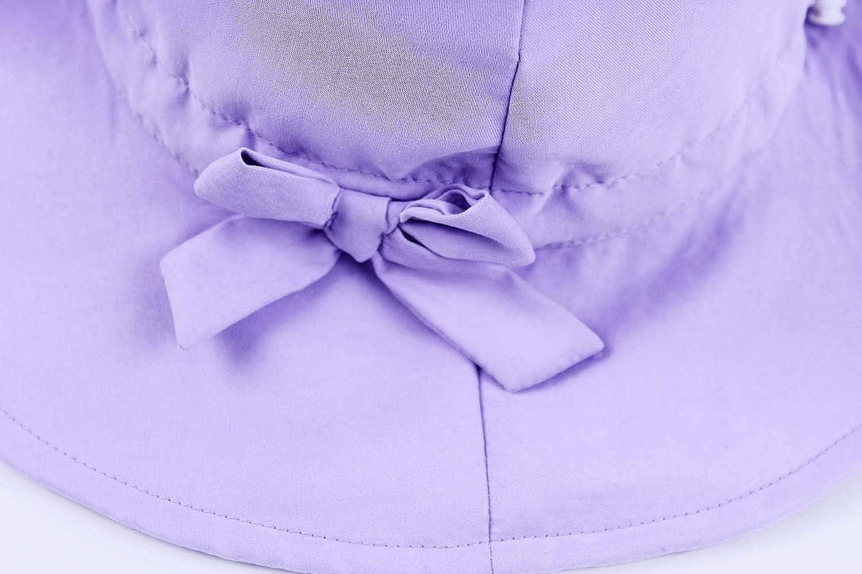 ni/ño rosa ala ancha con correa ajustable para la barbilla para beb/é ni/ño 6 meses a 8 a/ños Sombrero de unicornio para ni/ñas